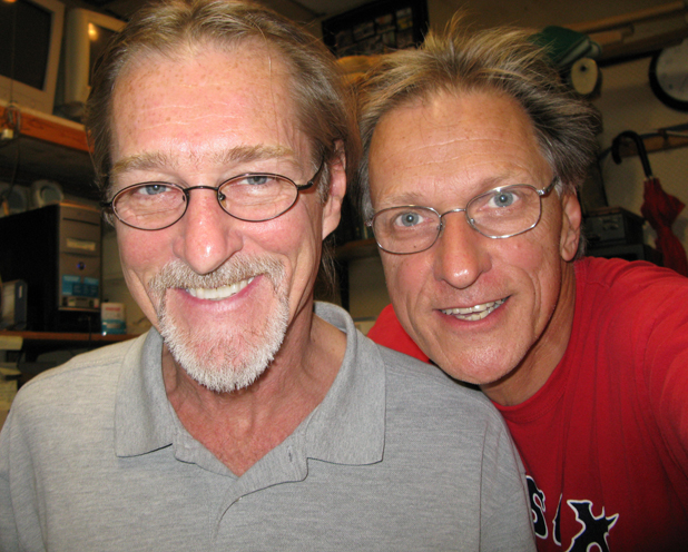 Greg Noonan and Steve Polewacyk in 2009